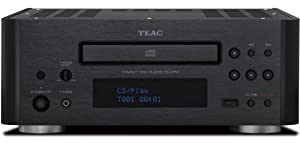 Teac CD-H750B CD Player with Bluetooth (Black)