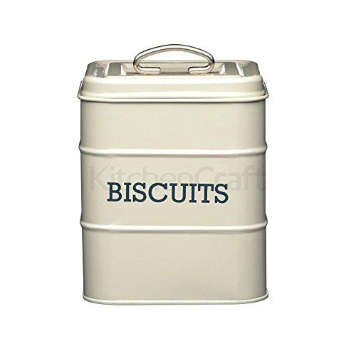 Vivre Crème Nostalgie Biscuit stockage Tin 14.5x19cm (pack de 2)
