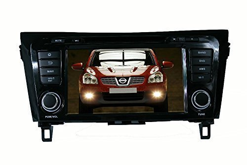 ANLU Android 4.4 Quad Core Double DIN Car Stereo GPS Navigation Radio For Nissan QashQai/X-Trail 2014 With 3G Wifi Audio Input Bluetooth USB SD FM AM SWC Mirror Link (Wifi Obd Nissan Xtrail compare prices)