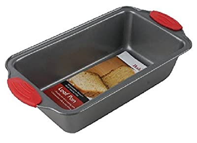 """Premium Non-Stick Steel 8.5-Inch Loaf Pan by Boxiki Kitchen 
