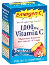 Emergen-C Tropical (10 packets) by Alacer Corp.