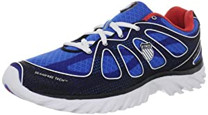 K-Swiss Mens Running Shoes Bleu (Brilliant Blue/Red) 41.5 EU
