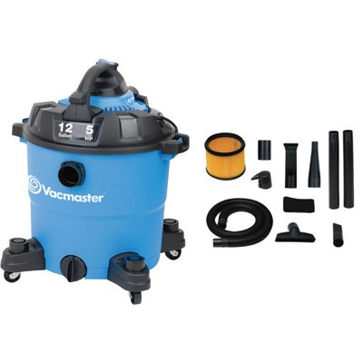 Read About Vacmaster VBV1210 Detachable Blower Wet/Dry Vacuum, 12 Gallon, 5 Peak HP