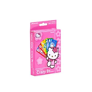 Hello Kitty Crazy 8S Card Game