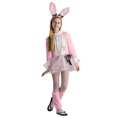 [Tween Energizer Bunny Dress Costume - Size Large] (Bunny Costume For 12 Year Old)