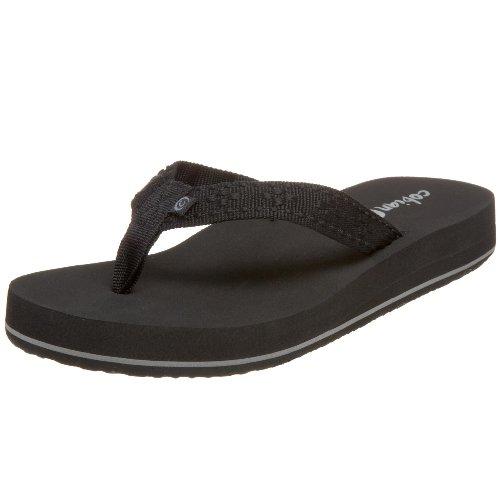 cobian Women's Bounce Sandal,Black,8 M US