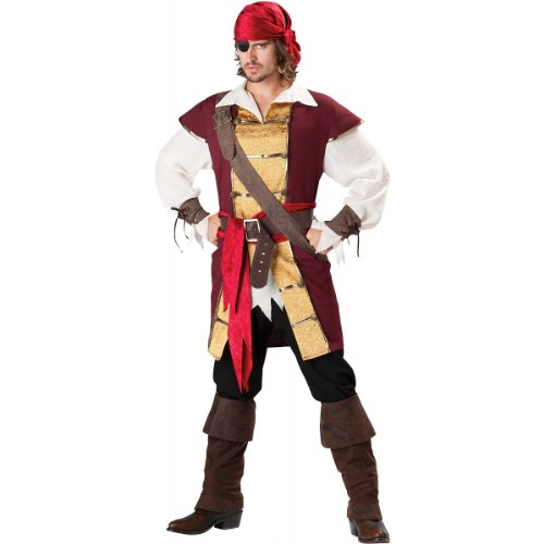 Swashbuckler Costume - Medium - Chest Size 38-40