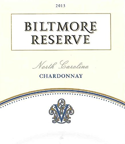 2013 Biltmore Reserve Chardonnay North Carolina 750 Ml