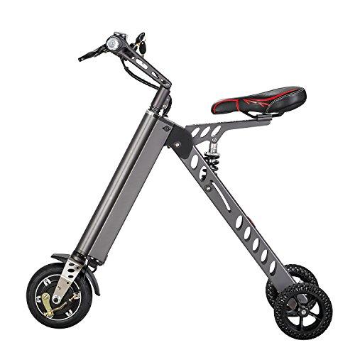 Elektrofahrrder-Mini-Electric-Bikes-Mode-Smart-Electronic-Vehicle-Scooter-Elektromobilitt-Tricycle-Faltbare-tragbare-elektrische-Fahrrad-Grau