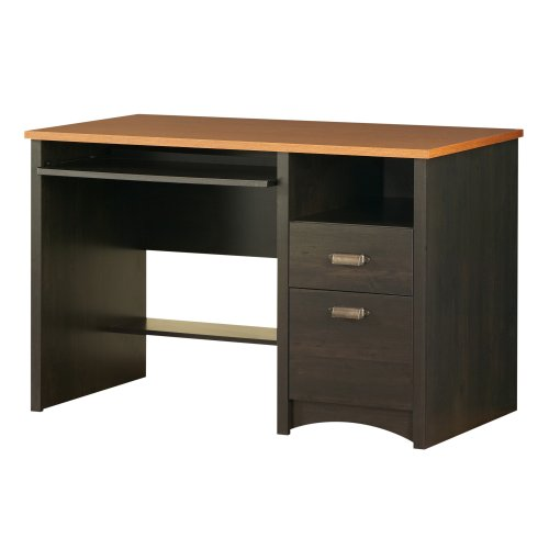 South Shore Desk, Gascony Collection, Ebony and Spice wood