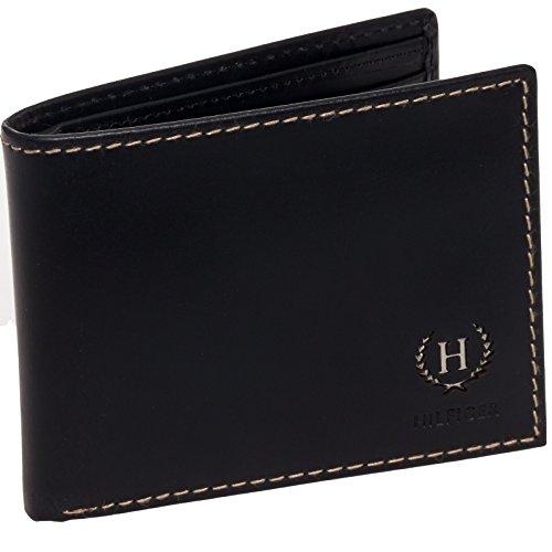 Tommy-Hilfiger-Wallet-Mens-Genuine-Leather-Hove-Passcase-Billfold