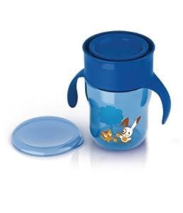 Philips AVENT SCF782/20 - Trinkbecher Allaround Cup 260ml ab 12+, Farbe hellblau