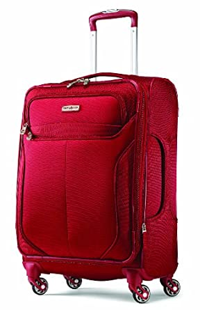 Samsonite Liftwo Spinner 21 Luggage, Red, One Size
