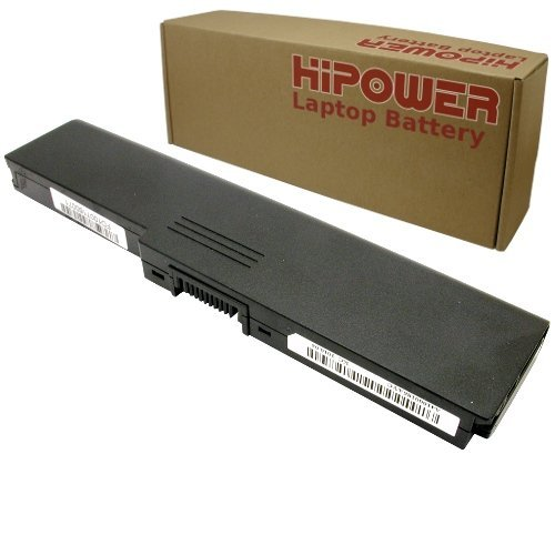 Hipower 6 Stall Laptop Battery For Toshiba Satellite A665D-S5172, A665D-S5174, A665D-S5175, A665D-S5178, A665D-S6051, A665D-S6059, A665D-S6075, A665D-S6076, A665D-S6082, A665D-S6083, A665D-S6084, A665D-S6091, A665D-S6096 Laptop Notebook Computers