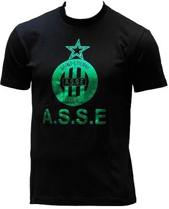 T-shirt ASSE - Collection officielle AS SAINT ETIENNE - Football club Ligue 1 - Taille adulte Homme M