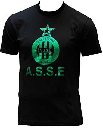 T-shirt ASSE - Collection officielle AS SAINT ETIENNE - Football club Ligue 1 - Taille adulte Homme XXL