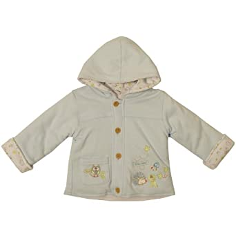 Pequilino Baby Boy's Windy Wood Jacket Blue Blue 0 - 3 Months