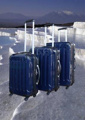 Koffer Kofferset Reisekoffer Hartschale BLAU