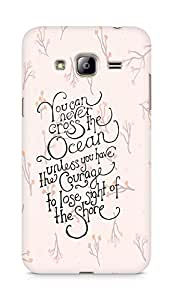 AMEZ you can never cross the Ocean Back Cover For Samsung Galaxy J3 (2016 EDITION)