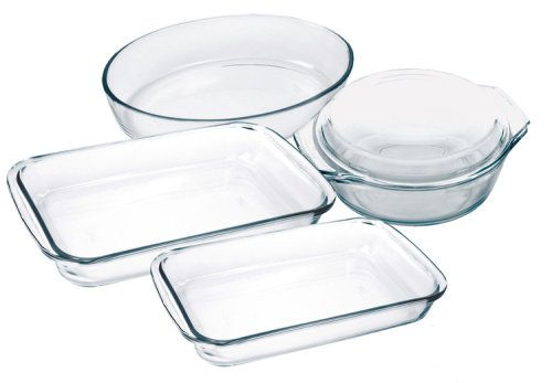 Marinex 5-Piece Bakeware Set, Gift-Boxed
