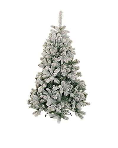 Forever Greens!  Albero Di Natale Innevato Verde