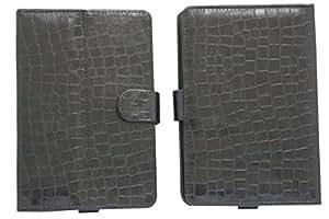 Jo Jo G11 Croc Flip Flap Case Cover Pouch Carry For Samsung P1010 Galaxy Tab Wi-Fi Black