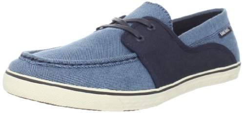 Diesel Men's Goodtime Malory Light Ecru'/Black Boat Shoe Y00372PR012H4258 10 UK