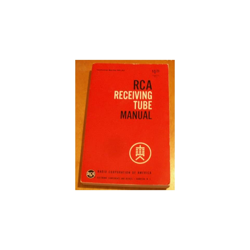 Rca Receiving Tube Manual RC 22 Technica on PopScreen