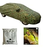 Millennium Military Green Camouflage Nylon Polyester durable Car Body Cover And imported under seat gel perfume air freshener For Nissan Micra