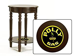 New Espresso Cappuccino Finish End Table Night Stand Featuring Your Choice Of Themed Logo!