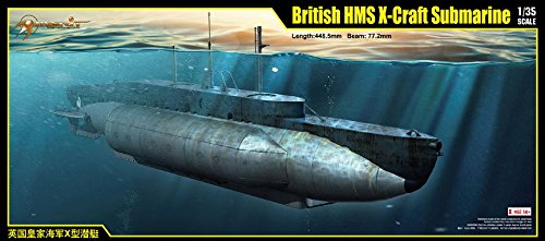 MRT63504 1:35 Merit British HMS X-Craft Submarine [MODEL BUILDING KIT] by Merit International (1 35 Submarine compare prices)