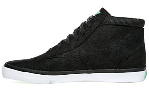 Radii Mens High Top Shoes Basic Black Tiffany (11)