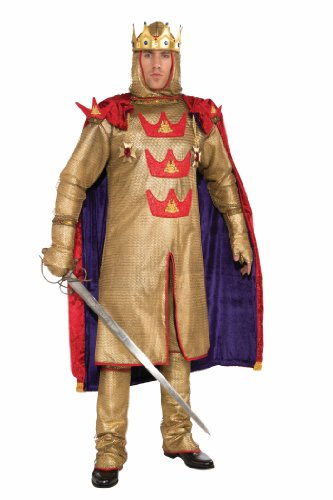 Forum Deluxe Designer Collection Armored King Arthur Costume