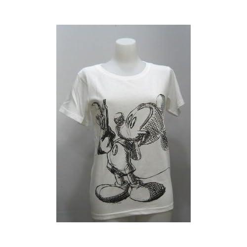(ディズニー)Disney Tシャツ ミッキーマウス イラスト レディース 305 フリー オフ