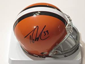Trent Richardson Rookie Signed Autographed Cleveland Browns Mini Helmet Authentic... by Riddell