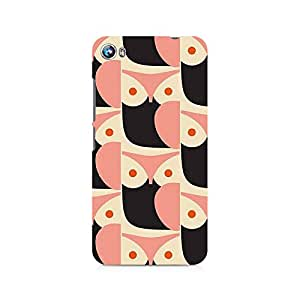 Ebby Pink Owl Premium Printed Case For Micromax Canvas Fire 4 A107