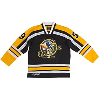 Guinness Toucan Hockey Shirt Yellow,Black & White by GUINNESS