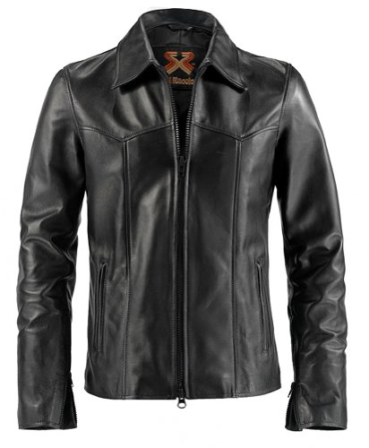 The Wheelman Mens Leather Jacket Made in Italy