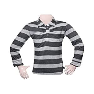 T-Shirt - Black Stripes Full Sleeves Tee Girl 18 - 24 Months