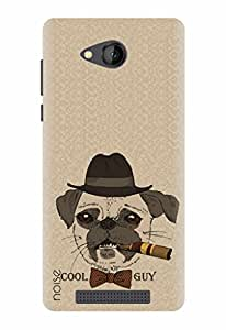 Noise Designer Printed Case / Cover for Lava A67 / Animated Cartoons / Cool Guy Design