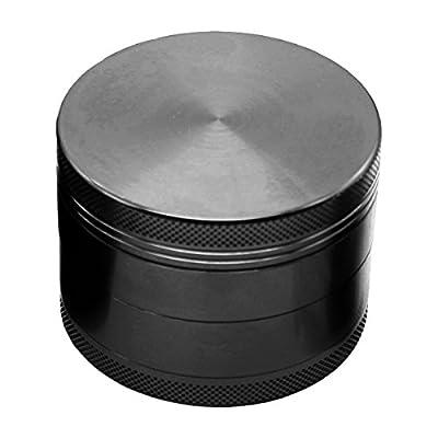 iHomeSet Spice/Herb Grinder - Tobacco Grinder - Plant Grinder - Pollen Collector - Heavy Duty Zinc Alloy - Magnetic Top
