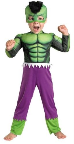 Costumes For All Occasions DG50123M Hulk Toddler Muscle 3T-4T