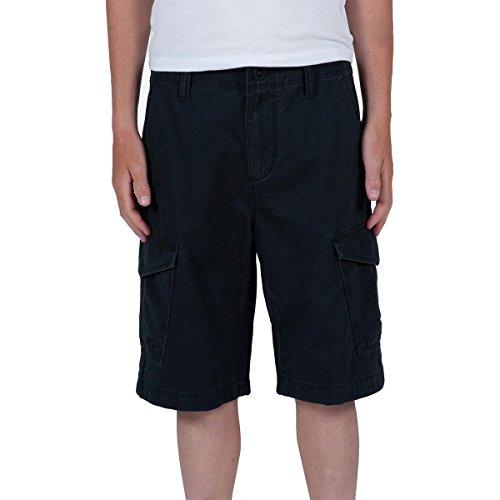Volcom Big Boys' Fieldstone Cargo Short, Black, 24