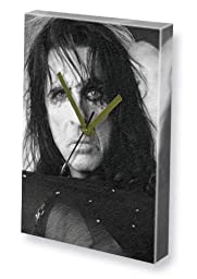 ALICE COOPER - Canvas Clock (A4 - Signed by the Artist) #js001