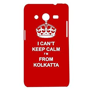 Skin4gadgets I CAN'T KEEP CALM I'm FROM KOLKATTA - Colour - Red Phone Designer CASE for SAMSUNG GALAXY CORE 2 (G3556d)