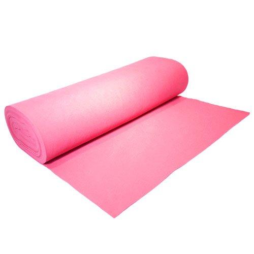 """Dark Pink Acrylic Felt 72"""" Wide x 1 Yard Long"""