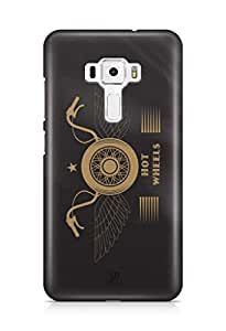 YuBingo Hot Wheels Designer Mobile Case Back Cover for Asus Zenfone 3 552 KL