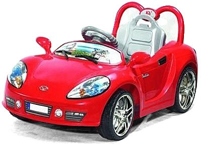 Andrew James Ride on Sports Car in Red with Remote Control