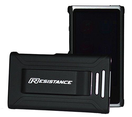 Resistance Shock Absorbing Protective Case with Ergonomic Rubberized Finish and Built-in Belt Clip for iPod Nano 7 (7th Generation), Black (Ipod Nano Clip 7th Generation compare prices)