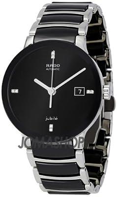 Rado Centrix Jubile Black Dial Stainless Steel Automatic Men's Watch R30941702